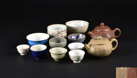 紫砂壺茶具十二點