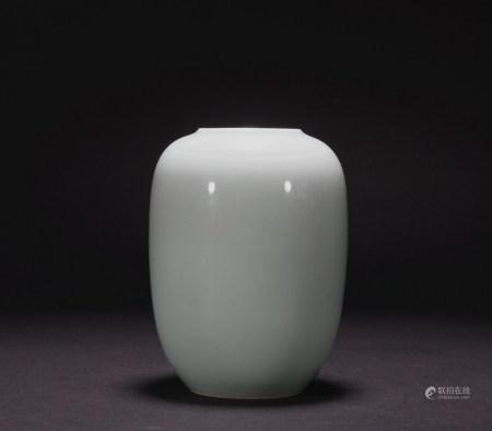 A celadon-glazed washer