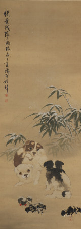 A Cheng zhang's animal painting