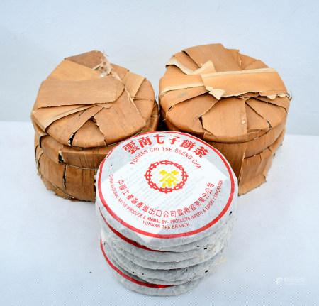 1992年黃印老生普洱茶