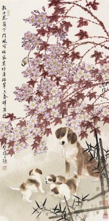 方楚雄|花蔭教子 2005年