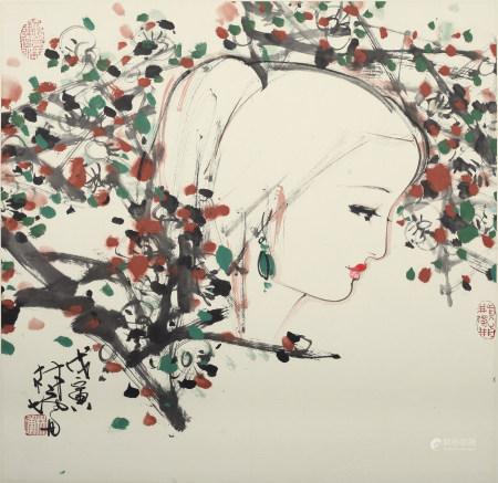 林墉|美女如花 1998年