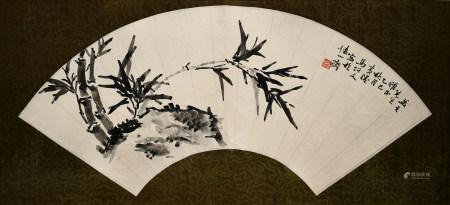 馬紹文|石竹圖 1965年