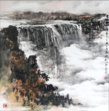 胡江|尼亞加拉大瀑布 2017年