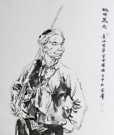 肖偉|秋日晨光 2016年