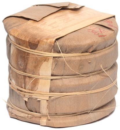 雲南布朗山皇家普洱貢熟茶餅七片