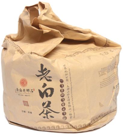 福鼎牌高山生態陳香老白茶餅五片