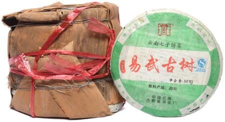 遠年易武古樹普洱生茶餅七片