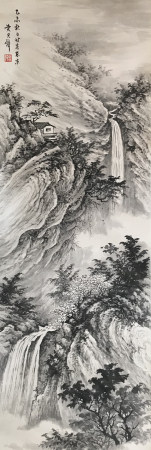 近现代 黄君璧 山水