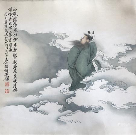 现代 徐操 钟进士巡游图