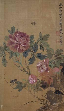 清代 恽寿平 花卉