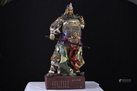 Original Handmade Shiwan Warrior