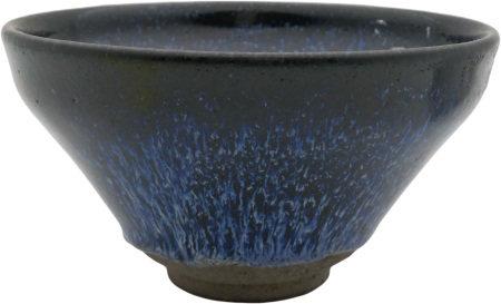 建窰藍釉碗