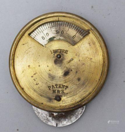 Instrument de mesure textile vers 1900. 6,5 cm