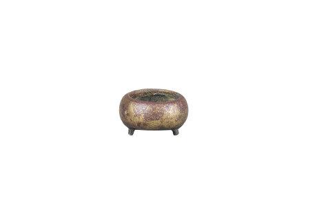 清 三足小銅爐