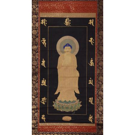 古佛畫 釋迦牟尼像