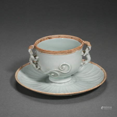 SOUTHERN SONG DYNASTY, CHINESE HUTIAN WARE CUP