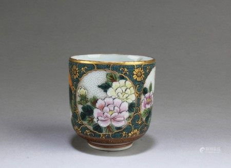 A Japanese Porcelain Wine Cup
