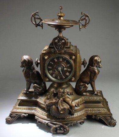 A Bronze Clock