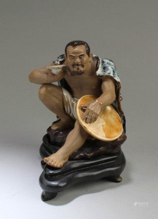 A Shiwan Figurine