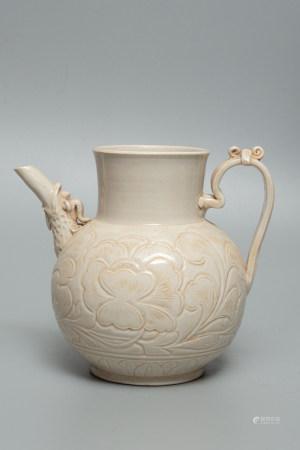 Chinese Ding Kiln Porcelain Pot