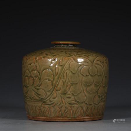 Chinese Yaozhou Kiln Porcelain Bottle