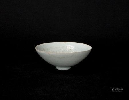 宋元時期-影青鳳紋碗