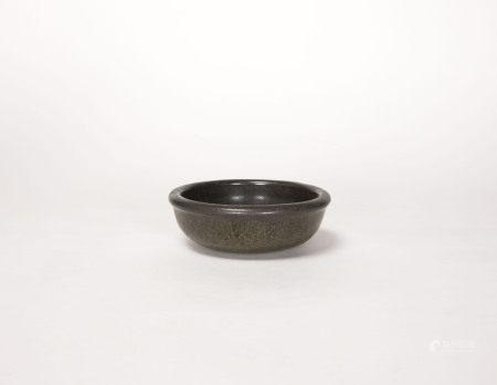 清代-茶葉末釉筆洗