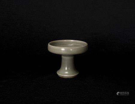 元代-龍泉窯印紋豆