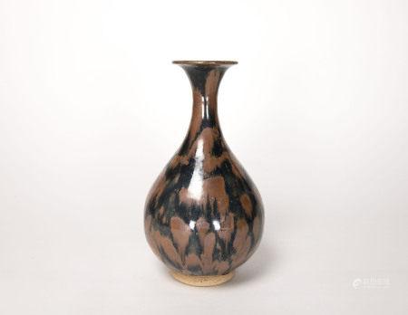 金元時期-磁州窯帶斑玉壺春瓶