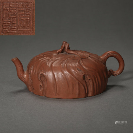 ANCIENT CHINESE CELEBRITIES BOCCARO TEAPOT