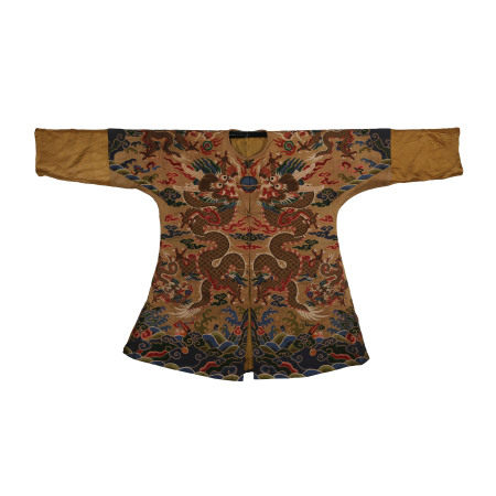 CHINESE KESI DRAGON ROBE, MING DYNASTY