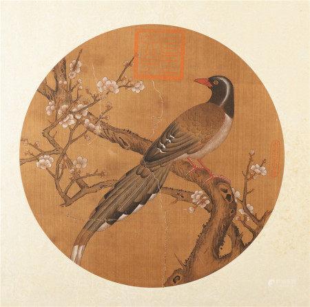 佚名《花鸟》