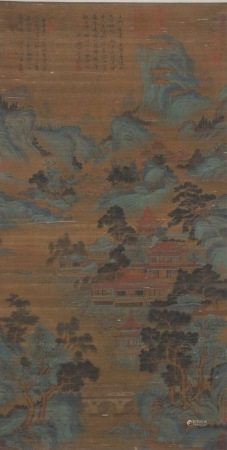 Chinese painting and calligraphy attic 中国书画 阁楼