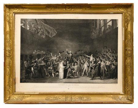 D'après Jacques Louis DAVID (1748-1825) et gravé par Jean Pierre Marie JAZET [...]