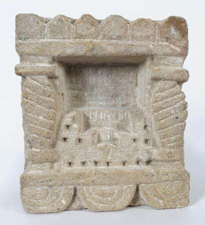 EARLY SINO-TIBETAN STONE SHRINE