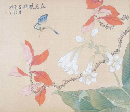 SET OF 5 CHINESE PAINTINGS