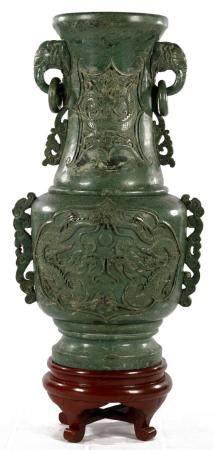 Very unique vase, Jade