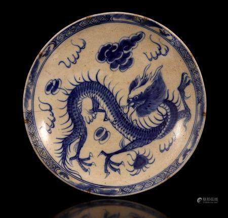 Chinese porcelain Swatow dish