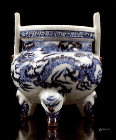Glazed earthenware pot