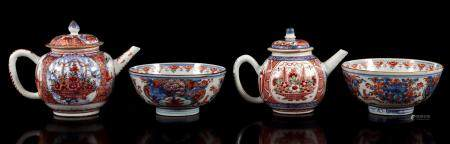 Amsterdams Bont 18th century porcelain teapot
