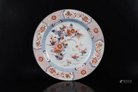 Goudimari dish with flower decoration, China ca.1750