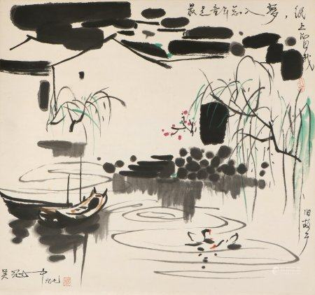 chinese painting by wu guanzhong