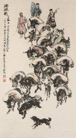 chinese painting by huang zhou