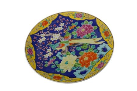 AN EARLY 20TH CENTURY CHINESE CIRCULAR PLAQUE
