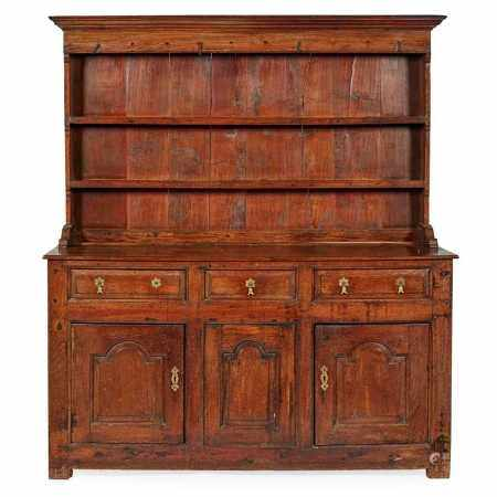 GEORGIAN OAK DRESSER 18TH CENTURY