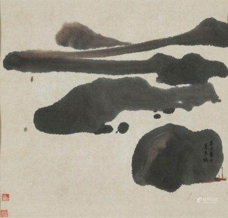 吕寿琨(1919-1975) 山水