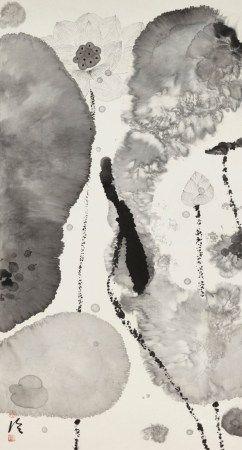 陈家泠(1937年生) 墨荷