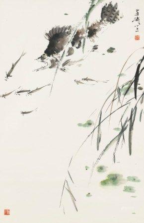 王雪涛(1903-1984) 年年有余
