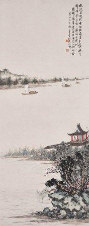 冯辛生(20世纪) 独倚江边
